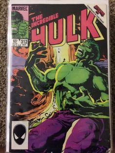 The Incredible Hulk #312 1985