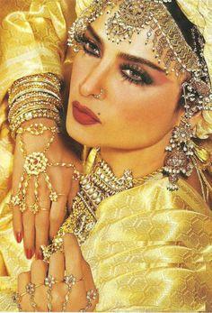 the beautiful Rekha