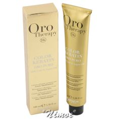Oro Therapy Hair Color Chart