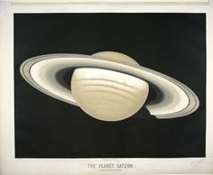 The planet Saturn. Observed on November 30, 1874