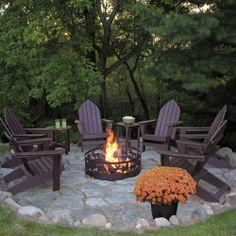 Superb Highwood Outdoor Horizontal Slat Synthetic Wood Bench 48 Part 7