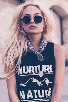 Sub_Urban Riot Nature Muscle Tank in Black