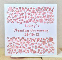 Print Ready Naming Ceremony Invitation Template  PsdAi