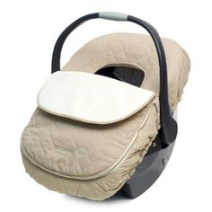 JJ Cole Car Seat Cover - ONLY use a cover, nothing that goes between baby & seat!!