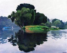 L'Ile, Poissy / Albert Marquet - 1929