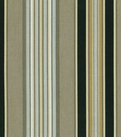 Home Decor Indoor/Outdoor Fabric-Waverly Sun N'Shade Getaway Stripe / Onyx & home decor fabric at Joann.com 14.99