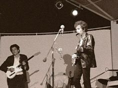Bob Dylan and Mike Bloomfield