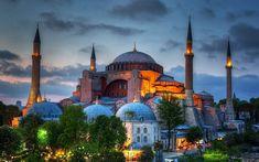 Τροπάριο για την βεβήλωση της Αγιάς Σοφιάς Aya Sophia, Hagia Sophia Istanbul, Fall Of Constantinople, Visit Istanbul, Istanbul Travel, Famous Buildings, Istanbul Turkey, Most Visited, Pamukkale