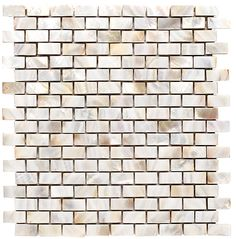 """Discount Glass Tile Store - Boutique Collection - Mother Of Pearl - White Pearl 0.6"""" x 1.2"""" (12x12 Mesh Mount Sheet) $19.85 Per Square Foot - Free Shipping, $19.85 (http://www.discountglasstilestore.com/boutique-collection-mother-of-pearl-white-pearl-0-6-x-1-2-12x12-mesh-mount-sheet-19-85-per-square-foot-free-shipping/)"""