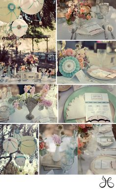 Hot Air Balloon Theme that's perfect for weddings, bridal showers, anniversary parties, baby showers, or any event. {Wedding Decor Idea} {Bridal Shower} {Party Theme Idea} {Flowers} {Table Scapes} Tablescapes and Table Setting Ideas}