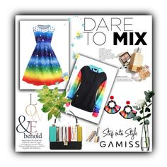 """Gamiss...Rainbow"" by hedija011 ❤ liked on Polyvore featuring Burberry, ASOS and LSA International"