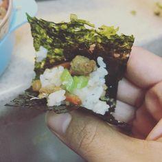 #買 真的包什麼吃什麼耶#韓國海苔#海苔包飯#海苔巻き#團購