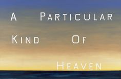 "Ed Ruscha, ""A Particular Kind of Heaven"",1983. Oil on canvas, 90 x 136 1/2 in. Fine Arts Museums of San Francisco, Museum…"