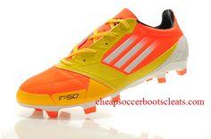Adidas F50 adizero micoach TRX FG Leather Soccer Cleats