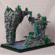 Heiligkeit - Lego Scene - - Soon Cobb Lego Moc, Lego Minecraft, Lego Robot, Lego Lego, Lego Disney, Amazing Lego Creations, Minecraft Creations, Lego Design, Legos