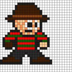 Freddy Perler Bead Pattern