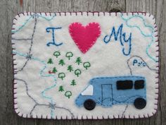 Motor home decoration, travellers gift, seaside decor, camping decor