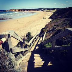 A welcoming stairway to heaven of the sandy kind at Torquay Surf Beach.  #sun #sand #surf #beach #ocean #waves #landscape #landscape_lovers #nature #naturelovers #naturephotography #nature_perfection #wanderlust #travel #roadtrip #travelgram #travelphotography #photo #photogrid #photographer #picstitch #picoftheday #photooftheday #potd #instagood #instadaily #greatoceanroad #australia #nikon #seeaustralia by wanderlust_traveling_spoonie