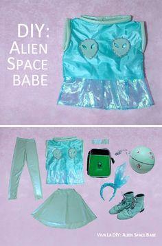 DIY: Alien Space Babe | Viva La DIY via @vivaladiy