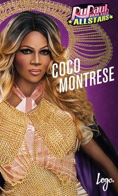 Cast of RuPaul's Drag Race All-Stars Season 2: CoCo Montrese