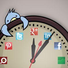 Social sharing: gli orari e i tempi giusti per la pubblicazione dei post