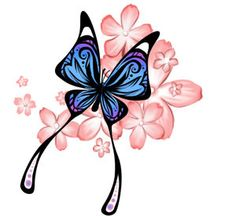 FANtÁSTICO MUNDO DA PRI ♥: Tatuagem Borboletas - Butterfly Tattoo