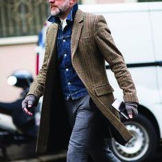Love the coat. Bruce Pask, Bergdorf Goodman's