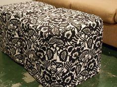 slipcovers for ottomans
