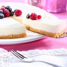 Mary Berry Lemon Cheesecake on a Ginger Crust