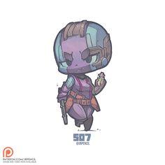 507 - Nebula by Jrpencil