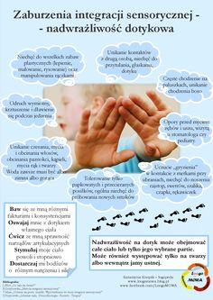 Nadwrażliwość dotykowa Hand Therapy, Therapy Tools, Sensory Integration, Aspergers, Toddler Meals, Primary School, Learning Activities, Games For Kids, Kids And Parenting