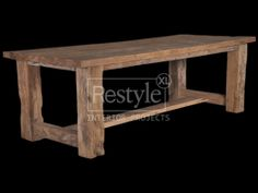 Massief eiken eettafelDe massief eiken eettafel met een H-frame onderstel, wordt ook wel een kasteeltafel genoemd. De tafel is van hergebruikt oud eikenhout gemaakt. Door het gebruik van grote massieve poten en het onderstel krijgt de tafel een robuust uiterlijk. Deze tafel is in verschillende afmetingen verkrijgbaar.     Afmetingen: 240 x 100 x 78(h)cm   €1549,-     Maatwerk mogelijk.