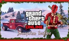 It's that most wonderful time of the year in Los Santos. Jump into Grand Theft Auto Online this holiday season for a Festive Surprise. EXPLOSIVE STOCKING STUFFERS Heat up your season' Gta Online, Grand Theft Auto, San Andreas, Rockstar Games Gta, Gta 5 Mobile, Fallout New Vegas, Fallout 3, Snowball Fight, Funny Moments