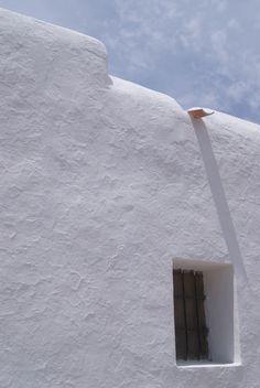 white Ibiza,,,, Me encanta lo agrietado y rugoso de la `pared, de las continuas capas de cal que se hacen cada año. El blanco de la cal es un blanco diferente.