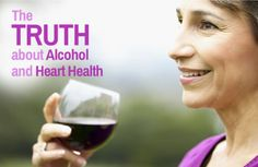 The Truth about Alcohol and Heart Health via @SparkPeople