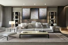 Contemporary living room design - Original Modern Heavy Texture Carved Sculpture Floral Gold Modern Metallic Oil Painting, Home decor artwork – Contemporary living room design House Paint Interior, Living Room Interior, Kitchen Interior, Luxury Homes Interior, Luxury Home Decor, Modern House Design, Modern Interior Design, Home Theater Design, Cozy Living Rooms