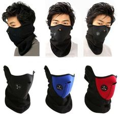 Neoprene Neck Warm Half Face Mask Winter Veil Windproof For Sport Bike Bicycle Motorcycle Ski Snowboard Outdoor Mask Men Women DHL Online with $1.37/Piece on Egomall's Store | DHgate.com
