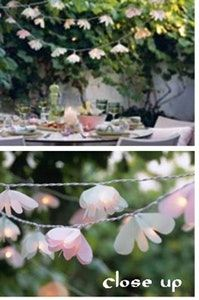 How to: Make Flower Fairy Lights — Melbourne