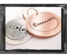 LillyEllenDesigns Hand Stamped Jewelry - Personalized Keepsake Jewelry  Etsy.com