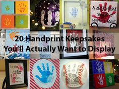 20 Handprint Keepsakes You'll Actually Want to Keep