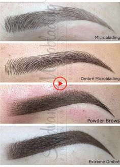 Celebrities With Tattooed Eyebrows – My hair and beauty Eyebrow Makeup Tips, Permanent Makeup Eyebrows, Eye Makeup Brushes, Makeup Tools, Makeup Eyes, Eyebrow Shading, Eyebrow Tattoo, Eyebrow Pencil, Tattoo Makeup