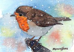 A snowy solitude by annalee377 on Etsy