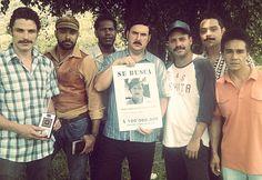 Imagen tomada durante el rodaje de la serie, Escobar, El patrón del mal. 2012  Ph: Juliana Arango Ossa Todos los derechos reservados