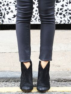 Jalouse Ankle Boot as you can see these are great with jeans and also look amazing with leggings and even trousers :) #boots #ankleboots