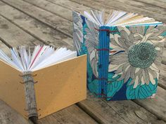 My Handbound Books - Bookbinding Blog: Making books out of scraps