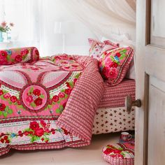 PIP STUDIO bedding Fruity Flowers, pink