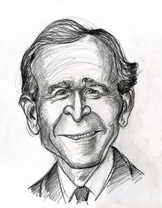 George W. Bush, 43rd President of the United States 2001-2009.