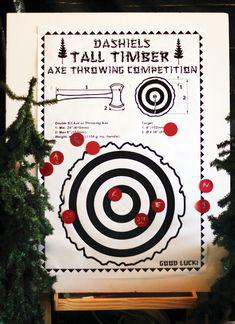 Creative+&+Woodsy+Lumberjack+First+Birthday