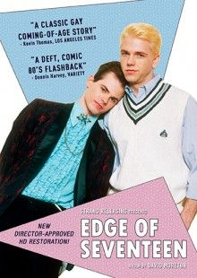 "This award-winning crowd-pleaser from David Moreton was a huge hit on the gay film fest circuit! Called ""a classic gay coming of age story"" by The Los Angeles Times, EDGE OF SEVENTEEN is now remastered and re-released in a new director-approved HD restoration. Set in the summer of 1984 in Sandusky, Ohio, teenager Eric Hunter is terrified and exhilarated by his sexual attraction to Rod, a college student and co-worker at a local fast food joint. But, Eric's sexual awakening is complicated..."