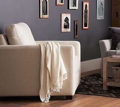 SoMa Bryant Square Arm Upholstered Storage Armchair #potterybarn #mypotterybarn